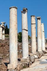 Curetes Street in the ancient Greek city Ephesus