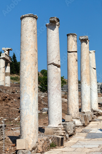 Curetes Street in the ancient Greek city Ephesus