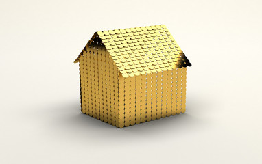 sogno casa d'oro costosa bella finanziamento