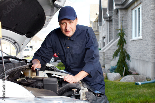 Professional auto mechanic.