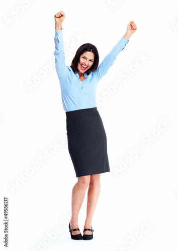 Business woman. Success.