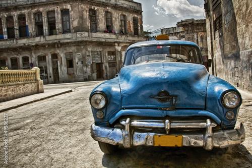 Poster Cubaanse oldtimers Cuba