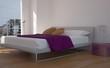 Wohndesign - modernes Schlafzimmer