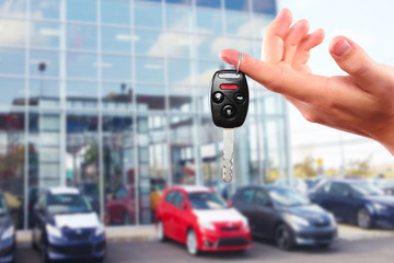 New Car keys.
