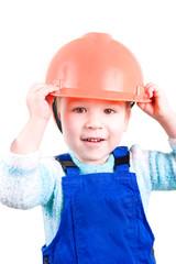 Kleiner Bauarbeiter