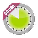button uhr 50 min. 1
