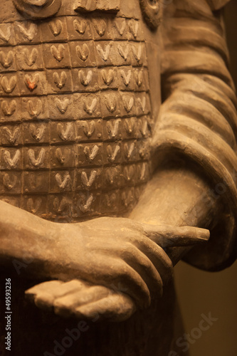 Fotobehang Xian Terracotta warrior hands, China