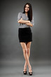 Young businesswoman, full length