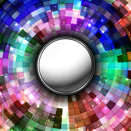 technology concept abstract digital background, button