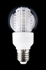 The modern LED light bulb