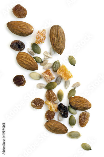 Trail Mix Isolated