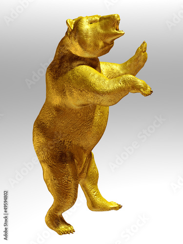 Golden Bear, flag, award and symbol