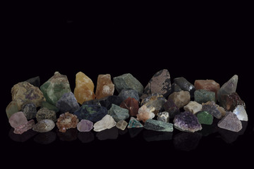 Selection of Rough Minerals