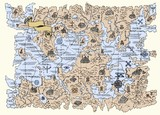 Map of the fantasy world