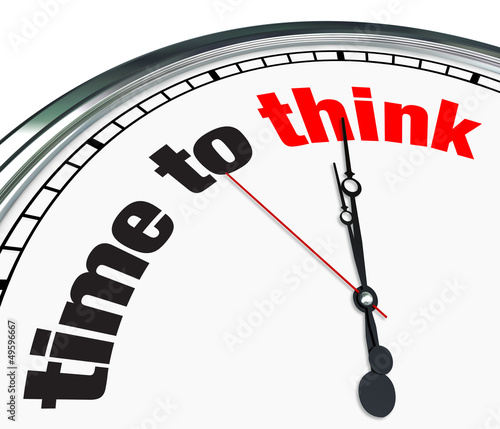 Time to Think - Clock