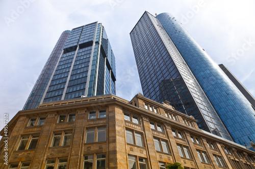 Bankenviertel - Hochhäuser in Frankfurt
