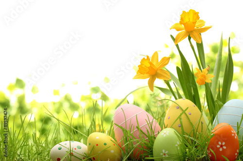 Easter Decoration Poster
