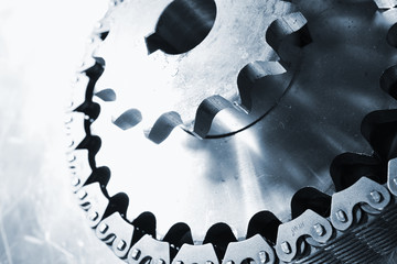 titanium gears and chain