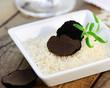 Trüffel auf Reis