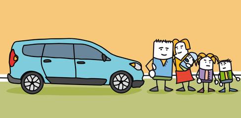 Acheter une voiture familiale