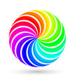 Colorful Icon, Logo with RGB Colors