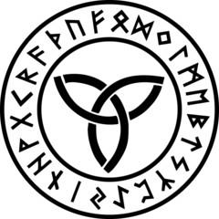 Triquetra - Runen Kreis - Göttin Symbol