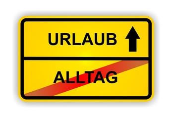 URLAUB - ALLTAG