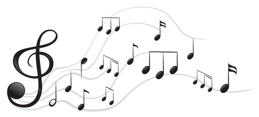 Different musical notes