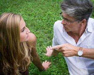 conflits père fille