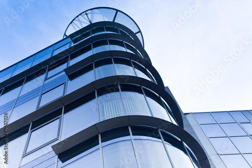 Foto op Aluminium Aan het plafond Gebäude in Frankfurt - Bürogebäude