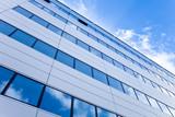 Fototapety modernes Gebäude in Frankfurt, Deutschland - Bürogebäude