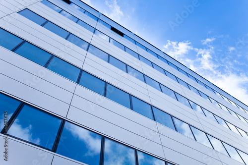 modernes Gebäude in Frankfurt, Deutschland - Bürogebäude