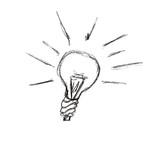 ampoule imagination idée poster