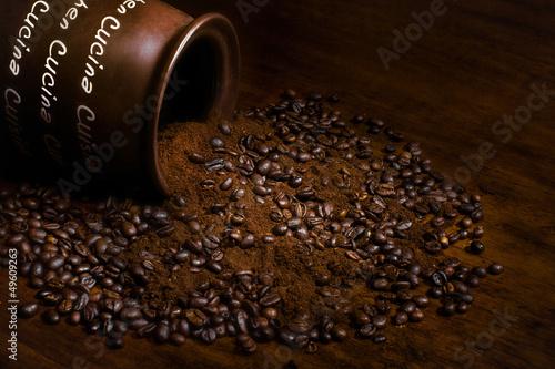 Fotobehang Koffiebonen Caffè_Coffee