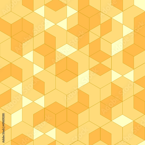 Isometric, geometric vector illustration.