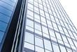 Glasfassade eines modernen Hochhauses - Frankfurt