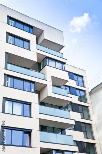 modernes Gebäude in Frankfurt am Main