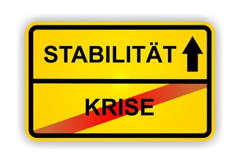 STABILITÄT - KRISE