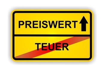 PREISWERT - TEUER