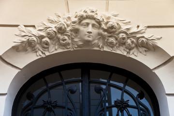 Eingang eines Gebäudes - Detail - Paris