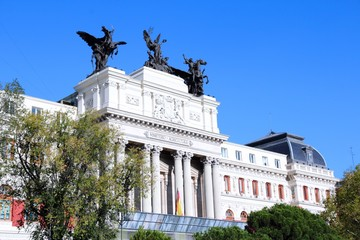 Madrid - Ministry of Agriculture building