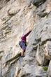 Bergsteiger in den Alpen