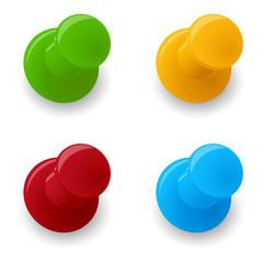 Pin Sammlung 4 Farben