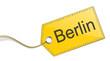 Etikett Schild Berlin