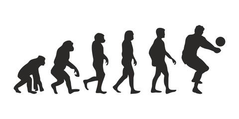 Vom Affen zum Handballer (Menschen)