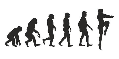 Vom Affen zum Turmspringer (Menschen)