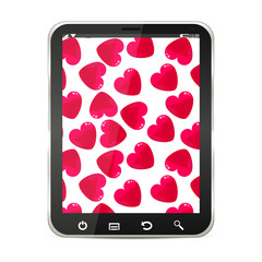 Hearts on a Tablet PC