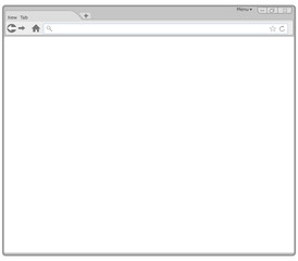 Empty Browser Window