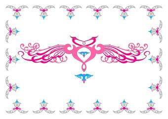 tavus kuşu motifi