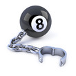 8 Ball and chain